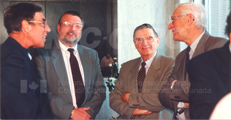 Canadian Society of Mechanical Engineering (CSME) honouring the Division of Mechanical Engineering 25 Aug. 1997 005