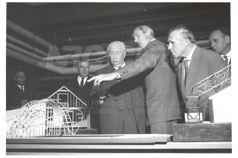 Visit of President Heuss of Germany 1958 001