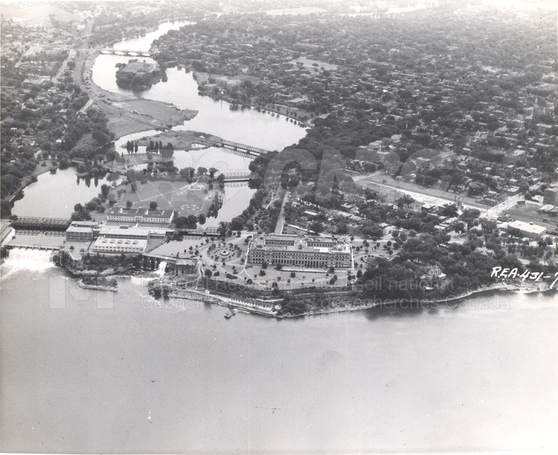 100 Sussex Drive Aerial View c.1932