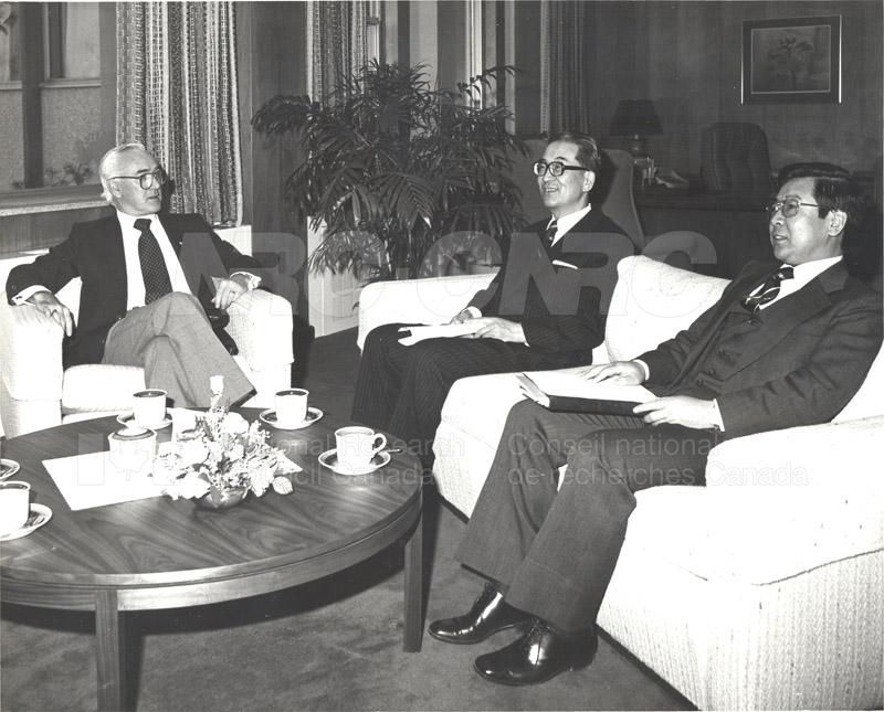 Japanese Ambassador Mar. 1982 001