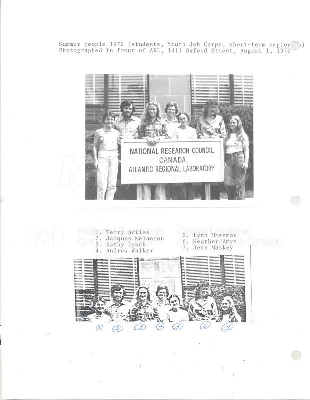 Summer Students 1979 002