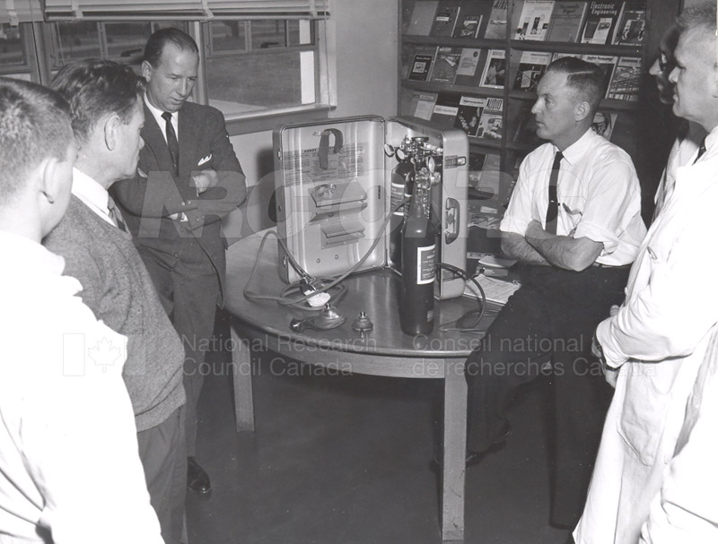 Fire Prevention Section Activities (Mr. Luke) 1950s+60s 004