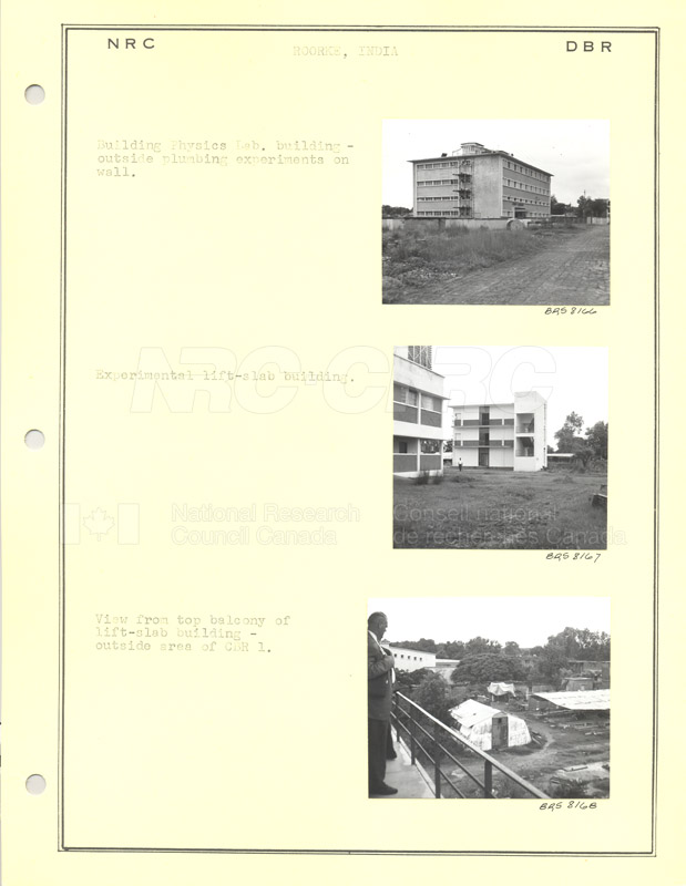 International Tour of Construction Sites- Dr. Legget 1967 005