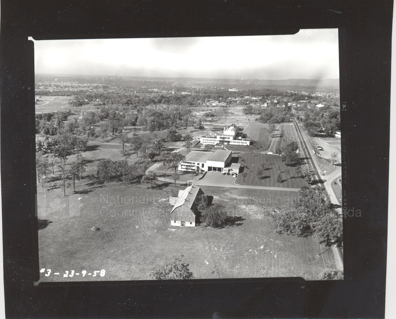 Location of M-58 Aerial View 1958