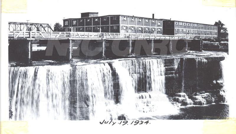 Rideau Falls- John St. Annex July 1934