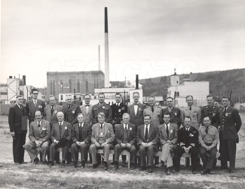 Group Portrait Permanent Joint Board of Defence- Visit to Chalk River May 1951