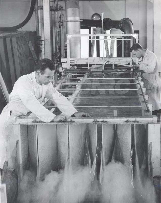 Hydrodynamics Section- Hydraulics Lab- Studies on Spillways for Hydroelectric Dams- Early 1950s 013