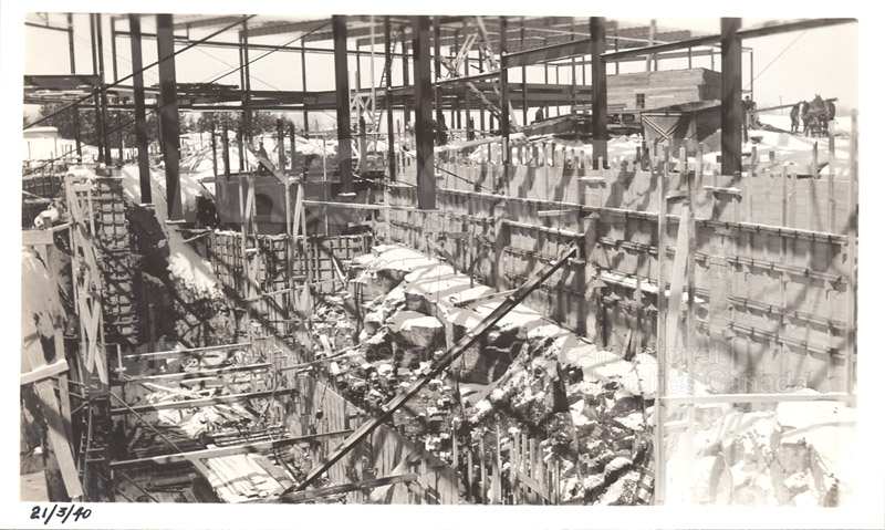 Administration and Wind Tunnels Construction 1940 025