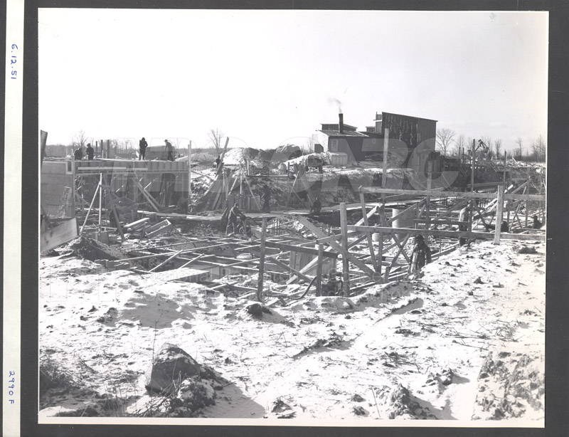 Administration Building Construction 1950s 012