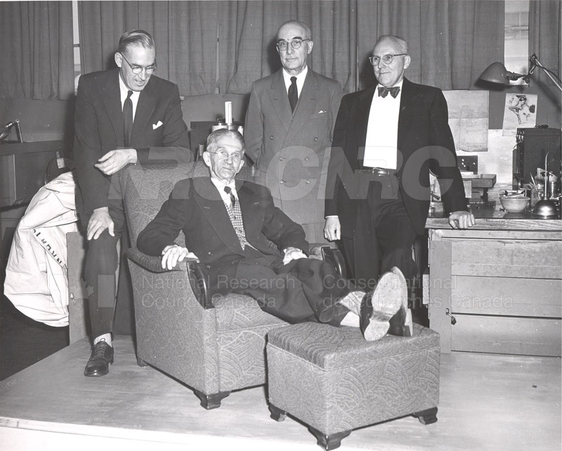 W.C. May Retirement Party 1954