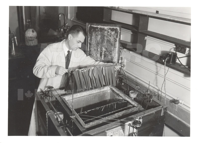 Apparatus for Accelerated Heat and Humidity Ageing Tests on Oilskins c.1940