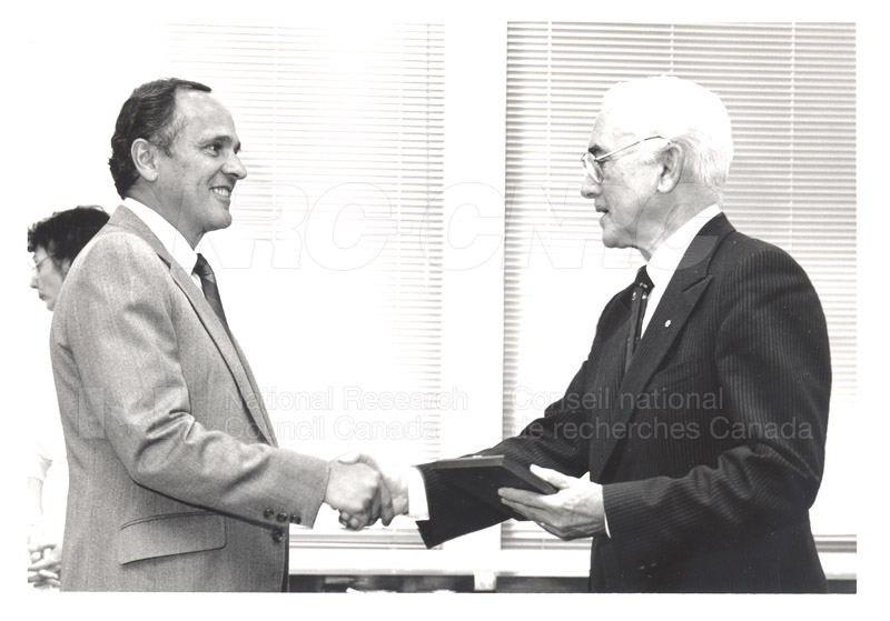 25 Year Service Presentation Sept. 12 1989 013