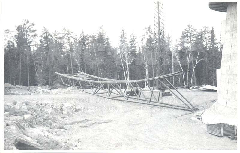 Algonquin Observatory- Construction of the 150 ft. Reflector c.1964 004