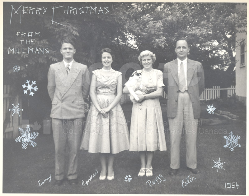 Christmas Photo of the Millman Family
