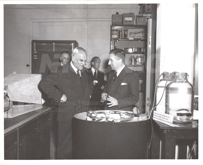 Opening of Building Research Oct. 23 1953 004