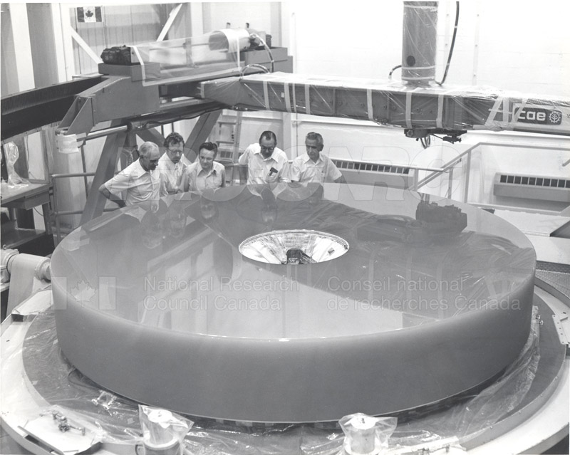 Dominion Astrophysical Observatory Victoria- Canada France Hawaii Telescope March 1978 CFHT Mirror 003