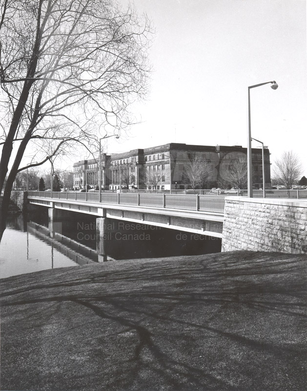 View from Rideau River c.1970