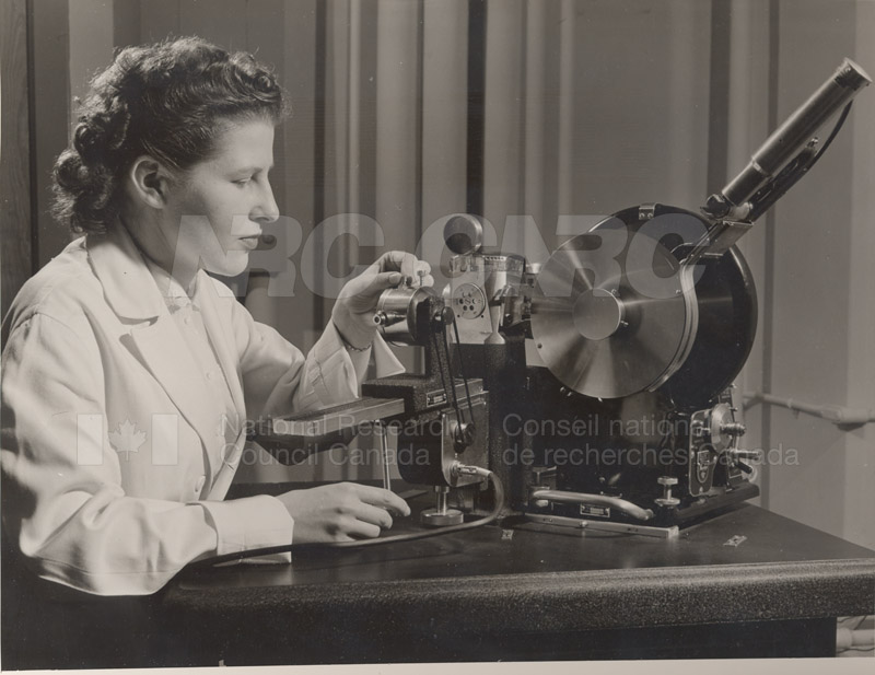 Mary Taylor- X-Ray Diffraction Unit 1953 002