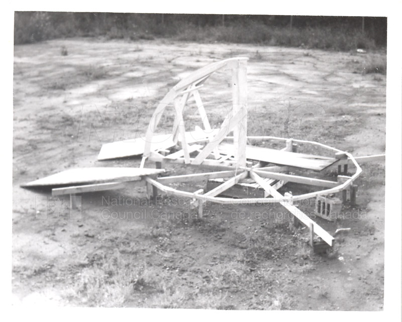 Spider- Level Platform on which to Construct Dome