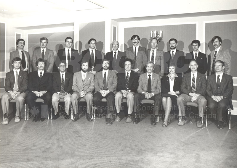 First Canadian Astronaut Finalists Nov. 21-25 1983 001