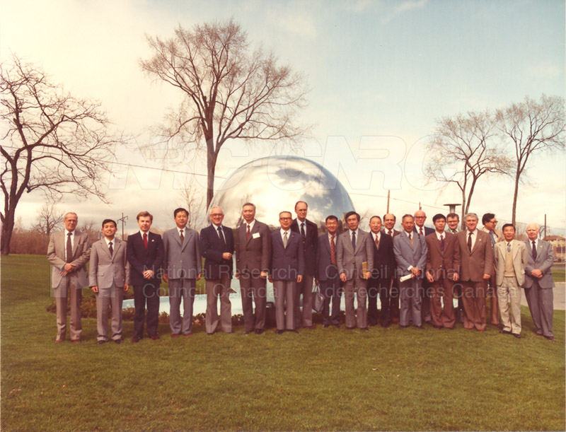 Visit to Canada of a Delegation from the Chinese Academy of Sciences April 28-May 11 1983 001