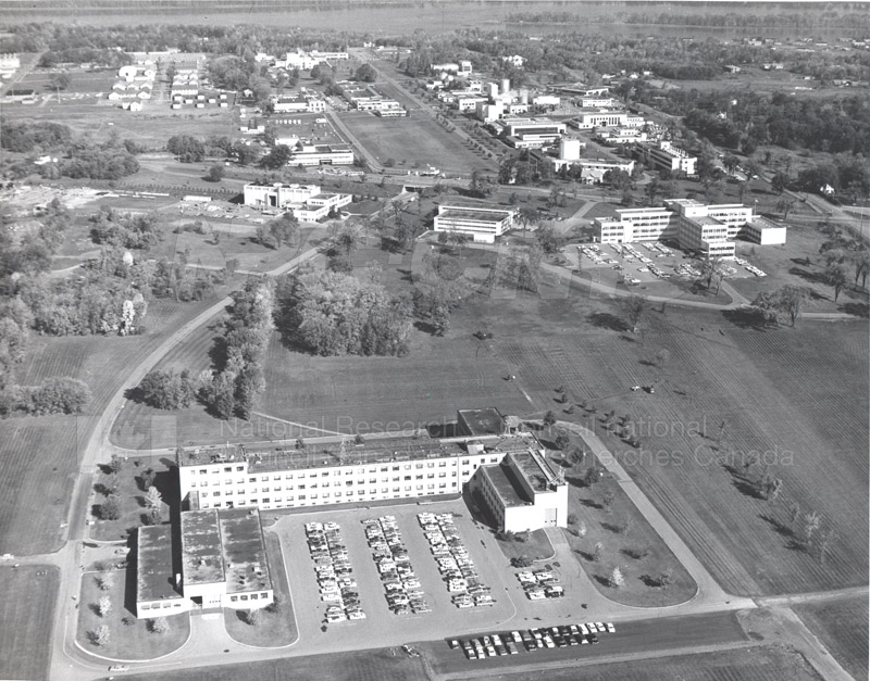Montreal Road Campus Aerial View 1960's 002