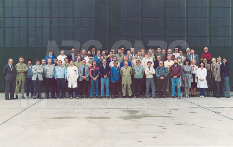 Flight Research Lab Group 1984
