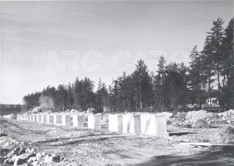 Algonquin Observatory- Early Stages of Construction 002