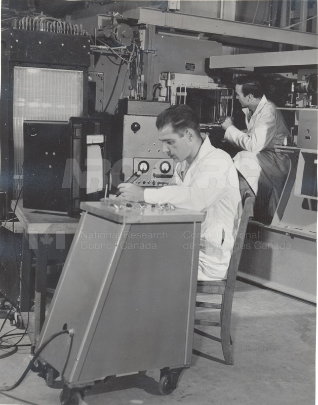 10'' Supersonic Wind Tunnel in Operation c.1951 002