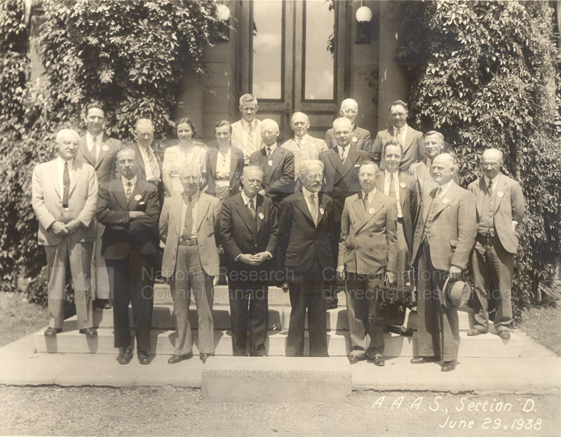 A.A.A.S. Section D June 29 1938
