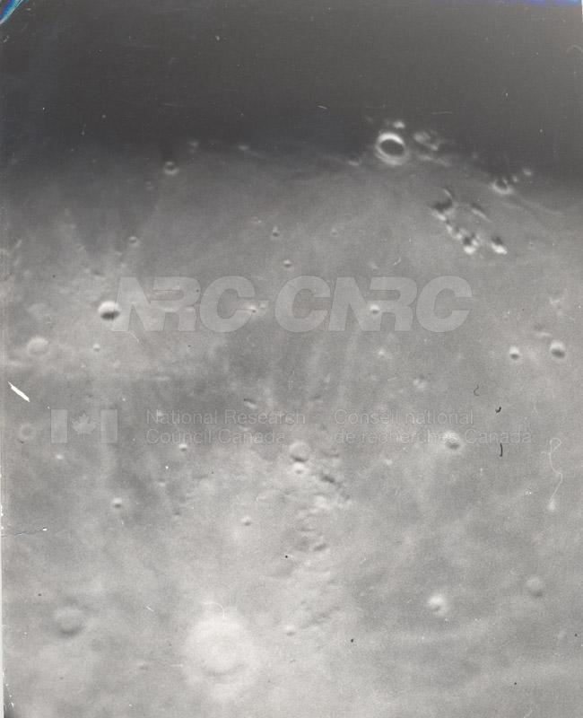 Moon- 8 Inch Refr. C Exp. 5 MQ 10 min 7.5 pm- Godlee, E. Burgess