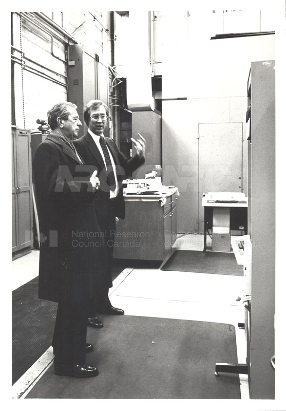 Corporate Services- Visit of French Ambassador Touring Hydraulics Lab 1981 010