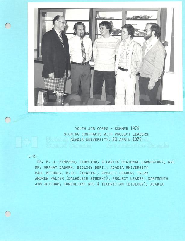 Summer Students 1979 011