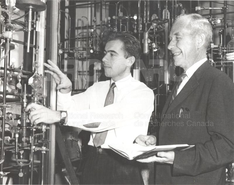 Public Relation- First Exchange Scientist- USSR (E.W.R. Steacie & F.S. Diatchkovsky) 1960