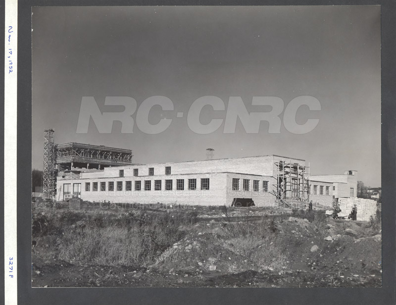 Construction of M-50 Nov. 17 1952 #3271 006