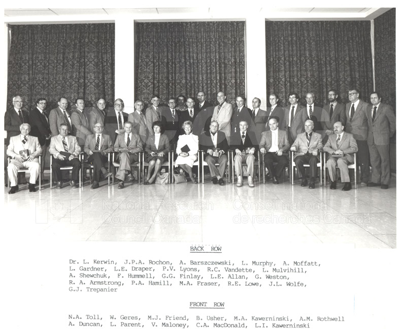 25 Year Service Plaques Presentations 1983 056