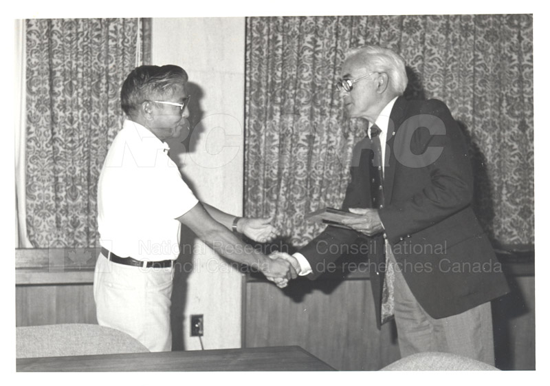 25 Year Service Plaques Presentations 1981 066