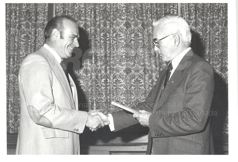 25 Year Service Plaques Presentations 1981 006