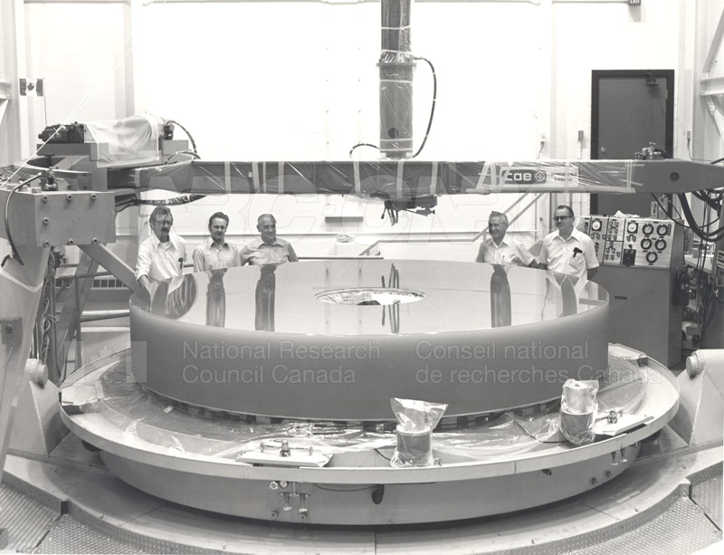 Dominion Astrophysical Observatory Victoria- Canada France Hawaii Telescope March 1978 CFHT Mirror 002