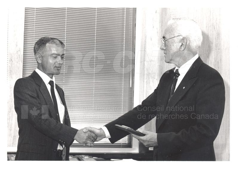 25 Year Service Presentation Sept. 12 1989 008