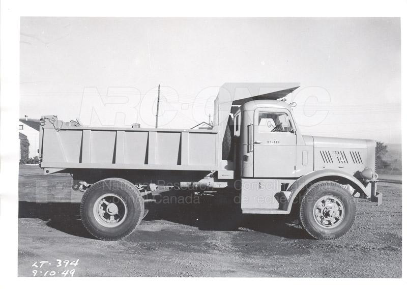Cold Room Testing of F.W.D. Model S.V. Dump Truck 001