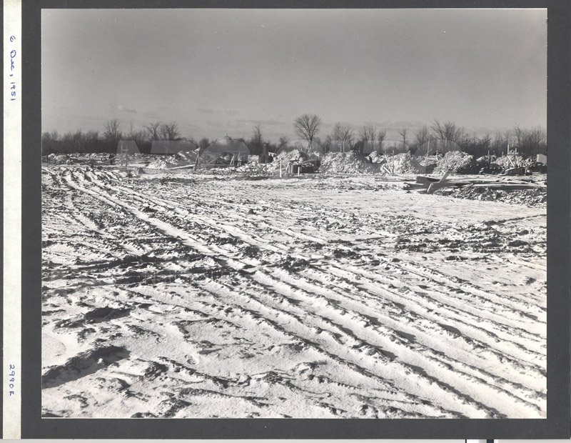 Construction of M-50 Dec. 6 1951 #2990 004