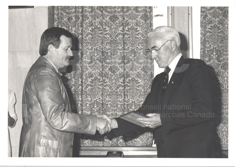 25 Year Service Presentations Nov. 1985 002