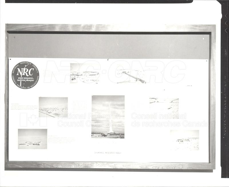 Churchill Research Range June 1964