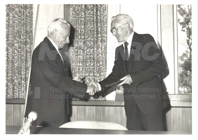 25 Year Service Plaques Presentations 1984 040