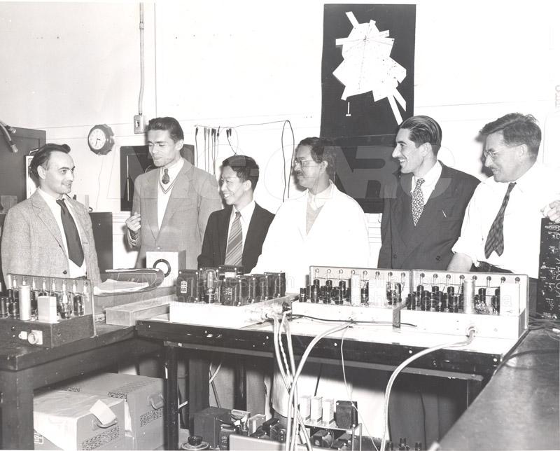 NRC Fellows Cosmic Ray Research 1950 004