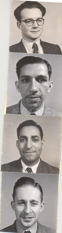 Photographs of Postdoctorate Issue 1957 112