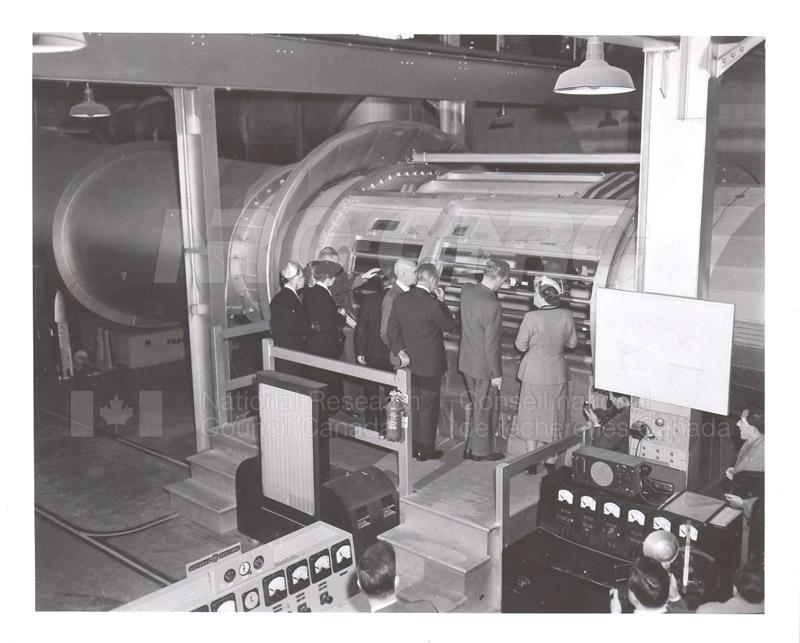 Queen Juliana Montreal Rd. Labs 23 April 1952 003