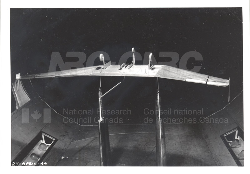 The Tailless Glider- Testing Flight April 27 1946