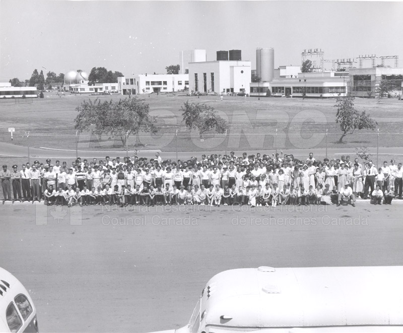 Visit of 4-H Clubs of Renfrew, ON 26 July 1955 002